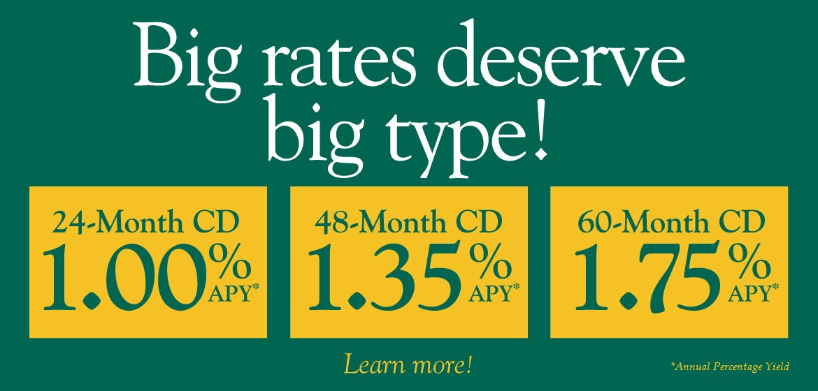 Big Rates deserve big type