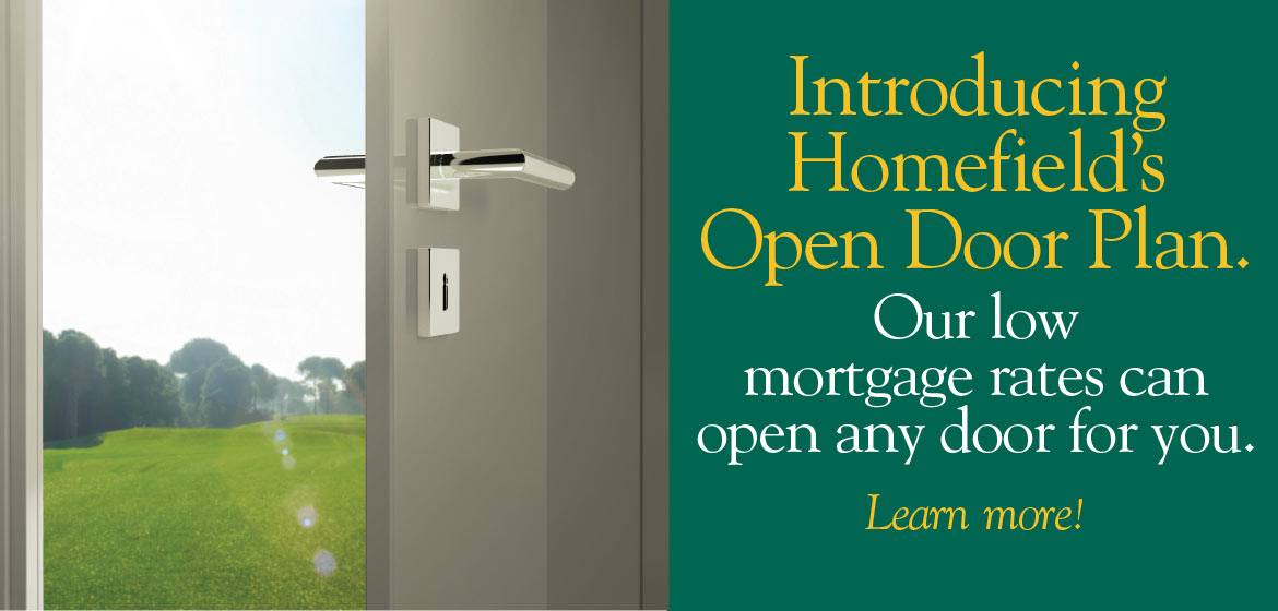 Open Door Plan Low Mortgage Rates
